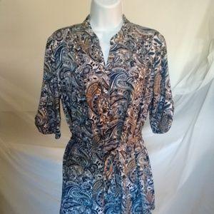 Pre Seption Concept Women's Dress Blouse Top Shirt